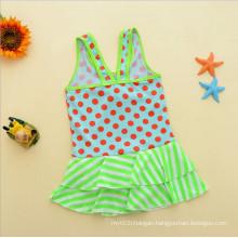 Blue Little Primary Girls Kids Swimwear