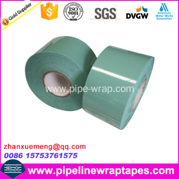 Viscoelastic modified butyl rubber anticorrosion tape