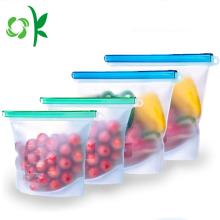Многоразовая сумка для хранения пищевых продуктов без BPA из силикона