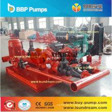 Pompe à eau centrifuge de lutte contre l'incendie UL / Fl / Nfpa Listed