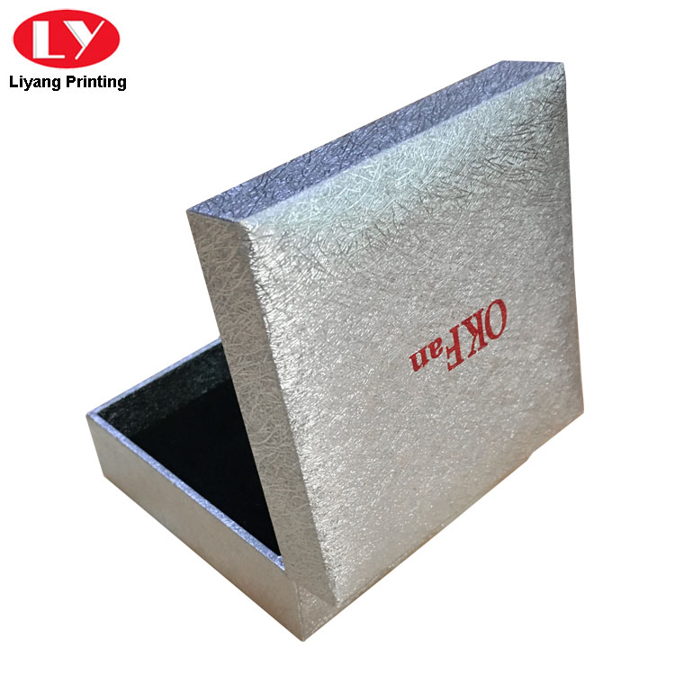 Silver Packaging Box
