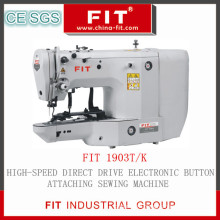 High-Speed Direct Drive Electronic Button Attaching Sewing Machine