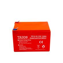 Shenzhen TAICO manufacturer sealed 12v 12ah agm battery