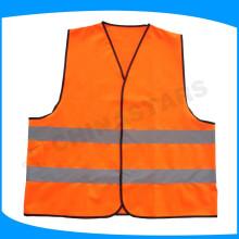 Chaleco reflectante de seguridad deportiva de alta visibilidad