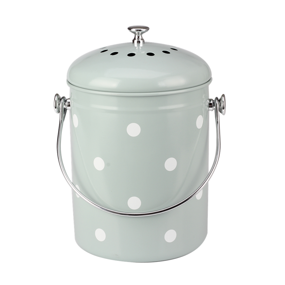 With Handle Compost Pail