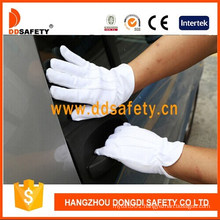 Low Price Good Quality White Cotton Hand Protective Gloves