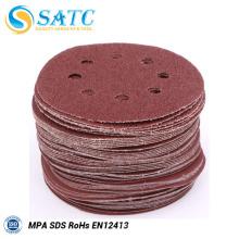 Os produtos de recurso Hook and Loop Fastener Areia Paper Disc