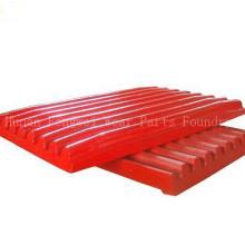OEM-hoher Mangan-Stahl feste bewegliche Backen-Zerkleinerungs-Platte