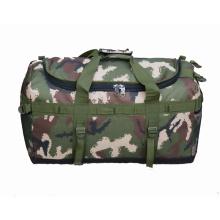 Travel duffel bag, Custom gym bolsa de lona para el weekender Military duffle bag