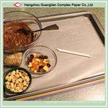 Papel de pergamino antiadherente personalizado para el uso de cocción DIY