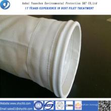 Bolso de filtro del polvo de la fibra de vidrio de la fuente directamente de la fábrica para la industria de la metalurgia con la muestra libre