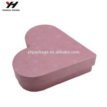 Matt Lamination Custom Wholesale Paper Gift Heart Style Box