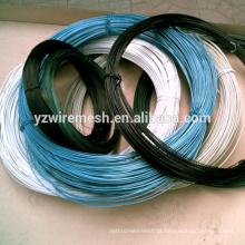 Fios de ferro revestidos de plástico / fios cobertos de plástico