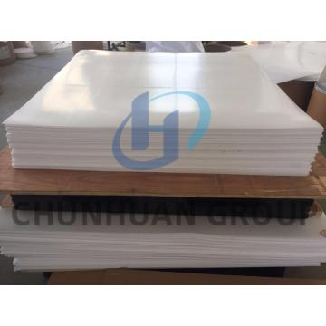 Pure Virgin PTFE Sheet color natural