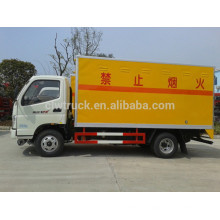 2015 hot sale Foton 4x2 explosion-proof car,small civil explosive car