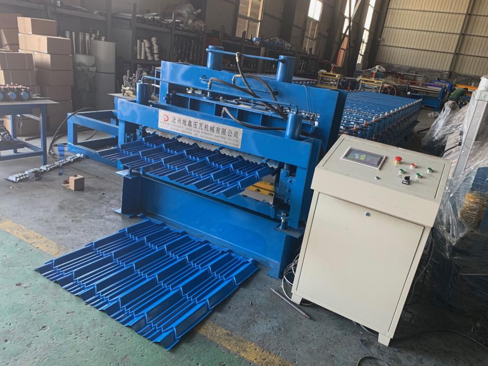 Glazed Roof Panel Roll Forming Machine