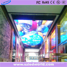 Indoor Full Color P6 LED Display Screen on Ceiling
