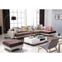 Boa nobre da Itália sala de estar real sofá de tecido KW622