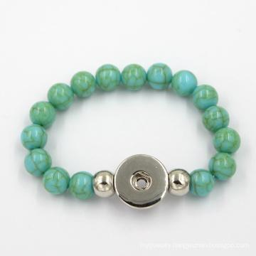 Fashion Jewelry Silicone Bead Bangle Charms Bracelet