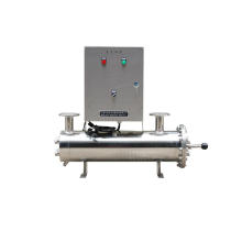 Stainless Steel Control Cabinet Automatic 80 Gpm UV Sterilizer