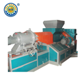 Barisan Pelletizing Cincin Air Skru Double