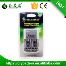 Geilienergy Factory Price GLE-C802 For AA,AAA,NIMH,NICD 9V Automotive Universal LED Battery Charger