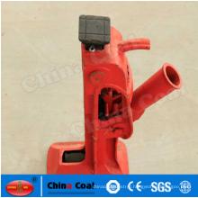 mechanical screw jack for rail vehicle
