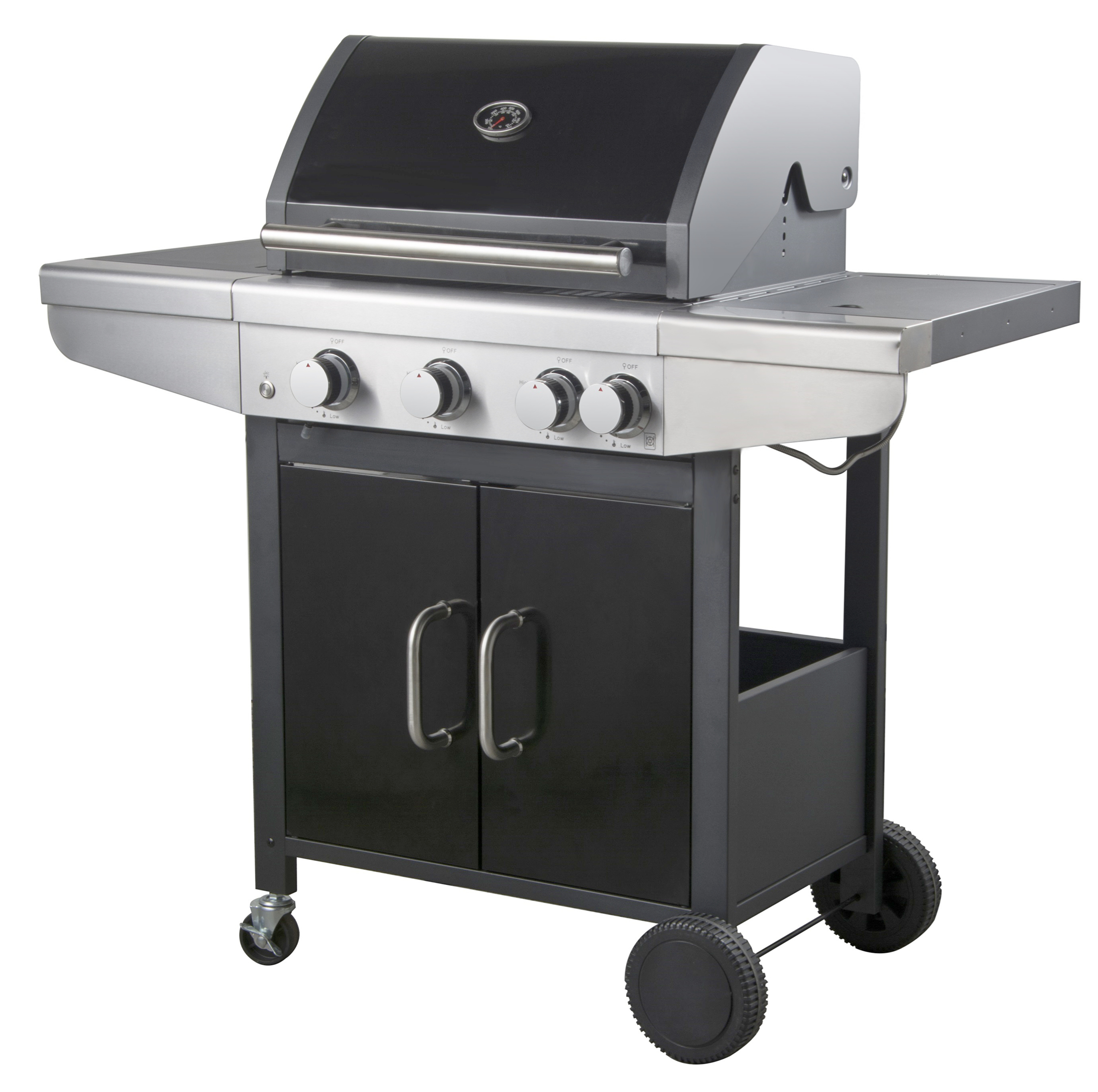 3 Burner Liquid Propane Gas Grill