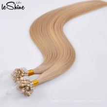 Extension de cheveux sans couture Micro Loop Rng