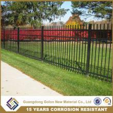Decorative Wrought Iron Fence Design