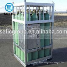 for 47Liter 150bar nitrogen gas cylinder rack