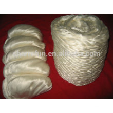 wholesale silk fiber raw tussah silk fiber