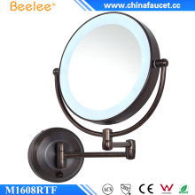 Wall Mounted Orb 3X Magnify LED Cosmetic Mirror