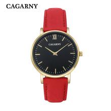 6855 Мода Наручные Часы Золото Серебро Черный Корпус Доступен