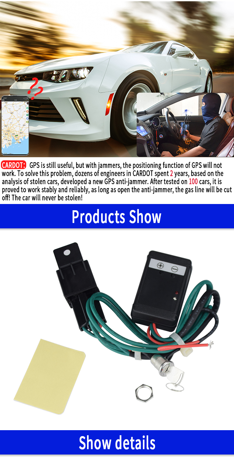 Dropshipping car gps anti jammer device ecurity Signal Against Car Alarm Security System Anti Jammer Gps Tracking