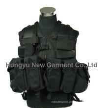 Molle Polícia militar Airsoft Tactical Vest (HY-V055)