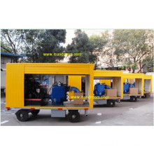 Diesel Powered Trailer Mounted Concrete Pump