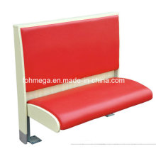 Modische rote Single Cafe Booth (FOH-CBCK01B)