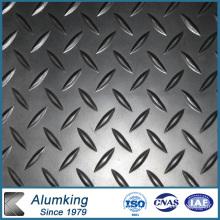 Feuille / plaque / panneau en aluminium / aluminium en relief 1050/1060/1100 pour plancher antidérapant