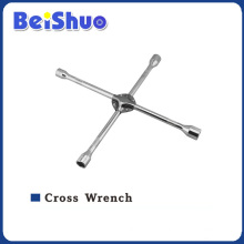 Cross Socket Wrench with Chrome Plate
