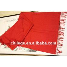 écharpes en cachemire rouge cravates châle pashmina / cachemire en gros