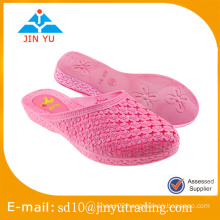2016 hot sale China factory price women PVC blowing woman sandal