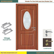 Toilet PVC Door MDF Door Factory PVC Glass Door
