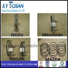Piston Ring for Japanese Cars Isuzu, Mit, Nissan, Mazda Series