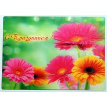 OEM Printing 3D Lenticular Plastic Greeting Cards