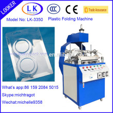 New design Plastic Three Edge Blister Folding Machine