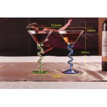 Copa de cristal, copa de vidrio para champán, whisky, cóctel y Martini