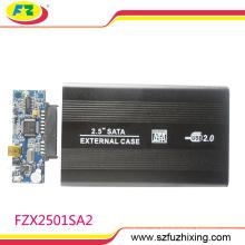 "2.5 ""caja de disco duro externa de encargo del caso de HDD de encargo"