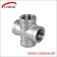 Stainless Steel Threaded Pipe Fitting Cross