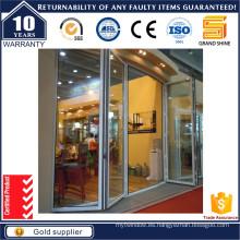 Puerta Bis plegable de aluminio del marco con el hardware de Alemania